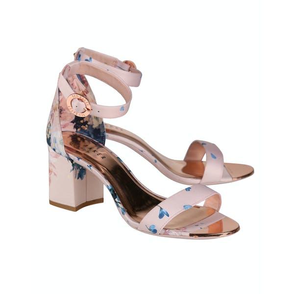 Ted Baker Manyah Printed Block Heeled Damen Dress Shoes