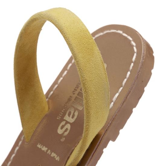 Solillas Amarillo Dames Sandalen