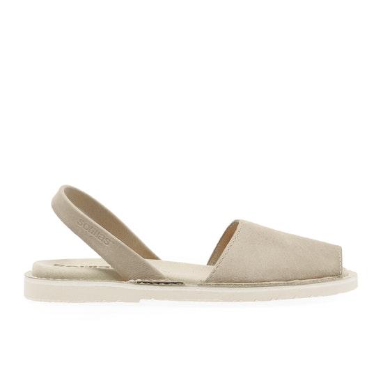 Solillas Beix Soft Sandalen