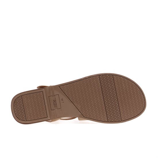 Toms Sicily Leather Womens Sandals