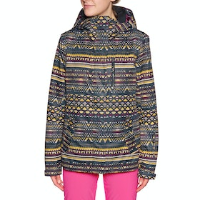 Blouson pour Snowboard Femme Roxy Jetty - True Black New Geometric