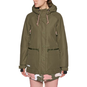 DC Riji Snow Jacket - Olive Night
