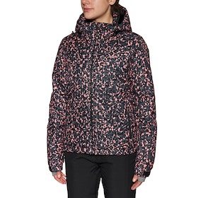 Protest Dante Snow Jacket - Think Pink