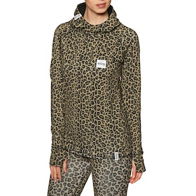 Eivy Icecold Hood Base Layer Top - Leopard