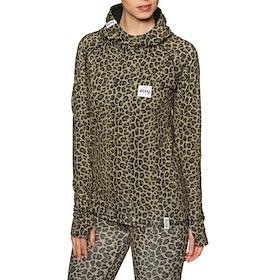 Top Abbigliamento Base Eivy Icecold Hood - Leopard