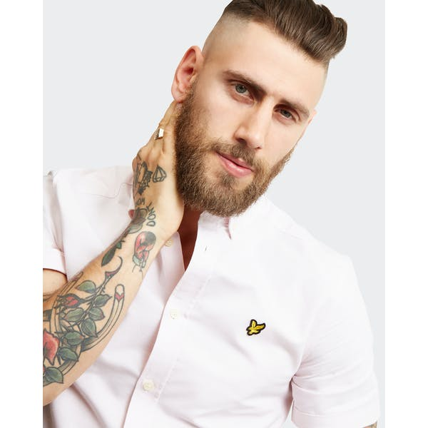 Camisa de Manga Curta Lyle & Scott Oxford