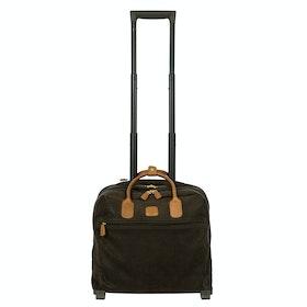 Brics Life Pilotcase Luggage - Olive