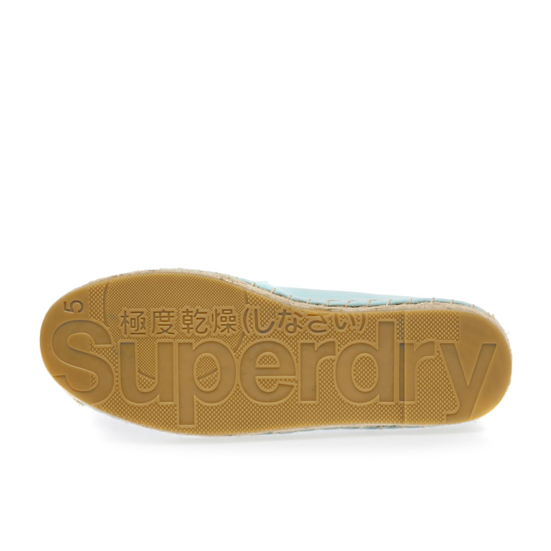 Superdry Erin Womens Footwear Espadrilles Soft Mint All Sizes