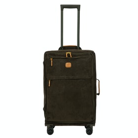Bagaż Brics Medium Life Soft Case Trolley - Olive