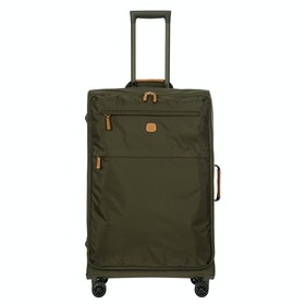 Brics X Travel Large Soft Trolley Luggage - Olive