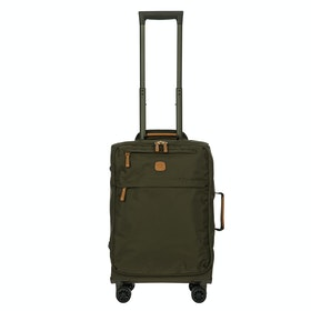 Brics X Travel Trolley Luggage - Olive