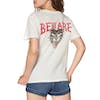 RVCA Beware Womens Short Sleeve T-Shirt - Antique White