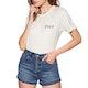 RVCA Beware Womens Short Sleeve T-Shirt