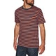 RVCA Vincent Stripe Crew Short Sleeve T-Shirt