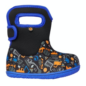 Bogs Baby Bogs Const Baby Wellingtons - Black Multi