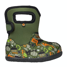 Bogs Baby Bogs Const Baby Wellingtons - Green Multi