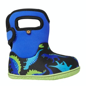 Bogs Baby Bogs Dino Baby Wellingtons - Electric Blue Multi