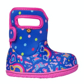 Bogs Baby Bogs Rainb Baby Wellingtons - Blue Multi