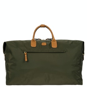Brics X Travel Holdall Luggage - Olive