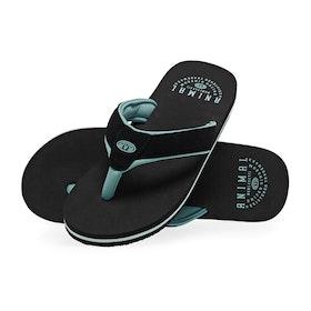 Sandales Animal Bazil - Black Turquoise