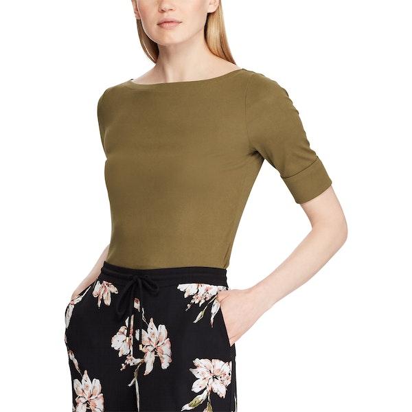 Ralph Lauren Judy Elbow Sleeve , Top Dam