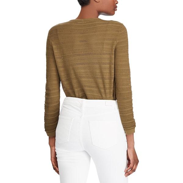 Lauren Ralph Lauren Ruthie 3/4 Sleeve Women's Sweater
