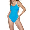 Calvin Klein Open Cut One Piece Womens Swimsuit - Maldive Blue
