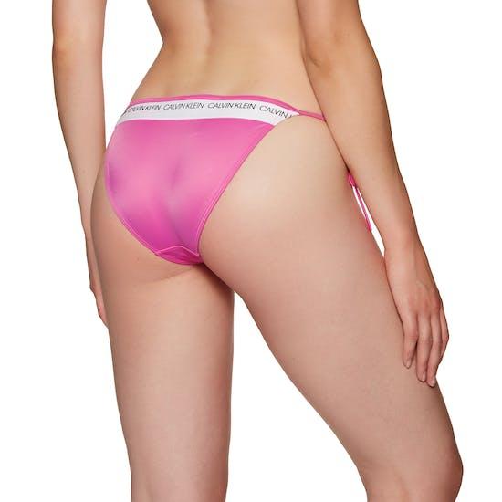 Calvin Klein String Side Tie Womens Bikini Bottoms