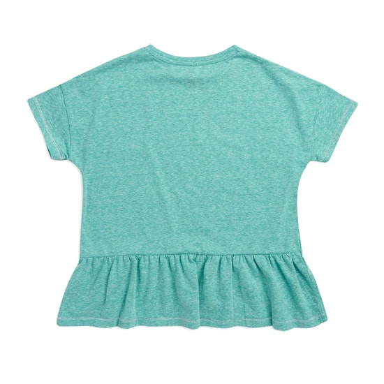 Animal Blue Sands Girls Short Sleeve T-Shirt