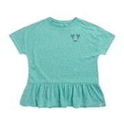 Animal Blue Sands Girls Short Sleeve T-Shirt
