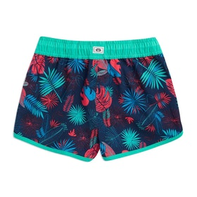 Animal Cali Dreamer Girls Boardshorts - Turquoise Green