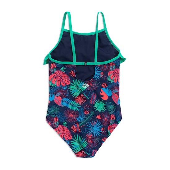 Animal Star Palm Girls Swimsuit