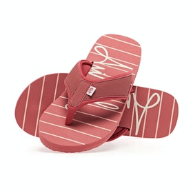 Animal Swish Beach Womens Sandals - Stripes
