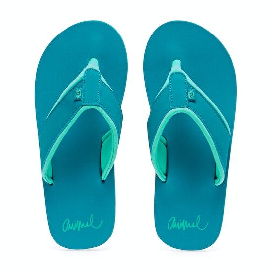 Animal Swish Block Womens Sandals