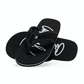 Sandales Femme Animal Swish Logo - Black