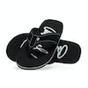Animal Swish Logo Womens Sandals - Black