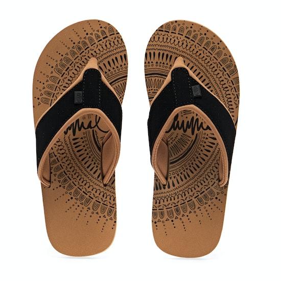 Animal Swish Placement Womens Sandals