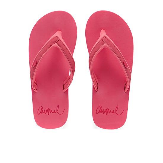 Animal Swish Slim Block Womens Sandals