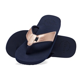 Sandales Femme Animal Swish Upper - Mid Navy Blue
