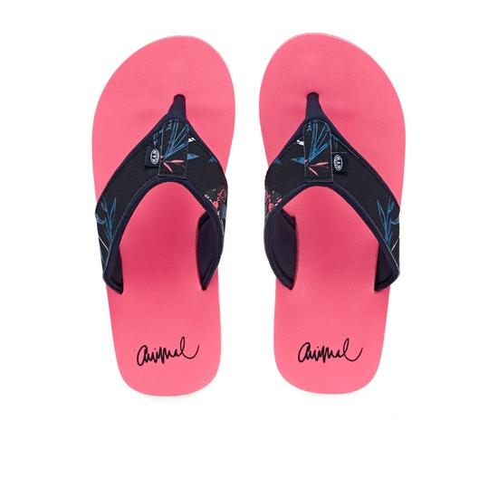 Animal Swish Upper AOP Flip Flops