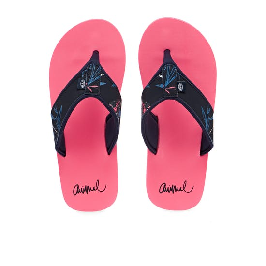 Animal Swish Upper Aop Womens Sandals