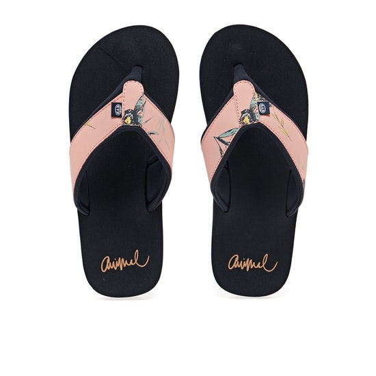 Animal Swish Upper AOP Sandals