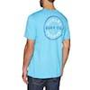 T-Shirt a Manica Corta Hurley Hayden - Blue Fury Heather