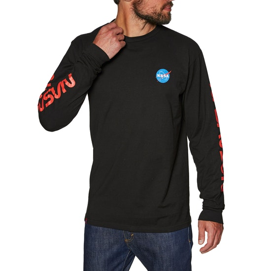Habitat Nasa Worm Repeat Long Sleeve T-Shirt