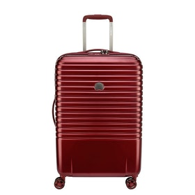 Delsey Caumartin Plus 65cm Luggage - Burgundy