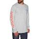 Habitat Nasa Worm Repeat Long Sleeve T-Shirt