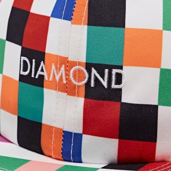 Diamond Supply Co Pixel 6-panel Unstructured Snapback Cap