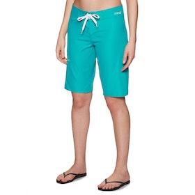 Animal Aloha June Womens Boardshorts - Capri Blue