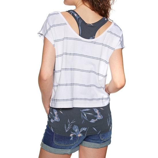 Animal Hippy Twin Womens Short Sleeve T-Shirt