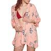 Animal Kimchie Womens Kaftan - Sunset Pink